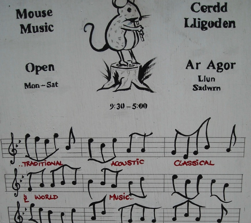 Mouse Music Logo Llanidloes